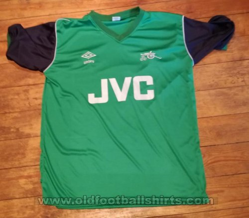 Arsenal Away football shirt 1982 - 1983