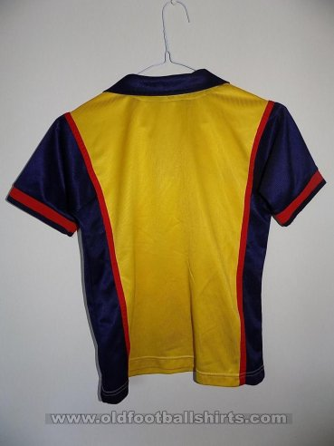 Arsenal Away baju bolasepak 1998 - 1999