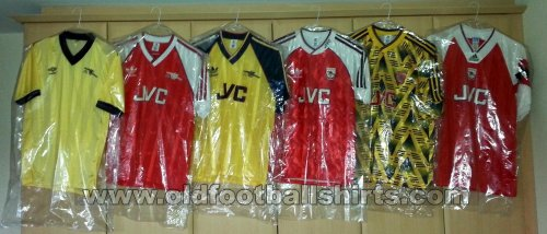 Arsenal Home football shirt 1983 - 1994