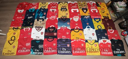 Arsenal Home football shirt 1983 - 2017