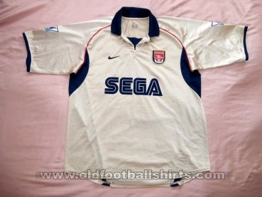 Arsenal Away football shirt 2001 - 2002