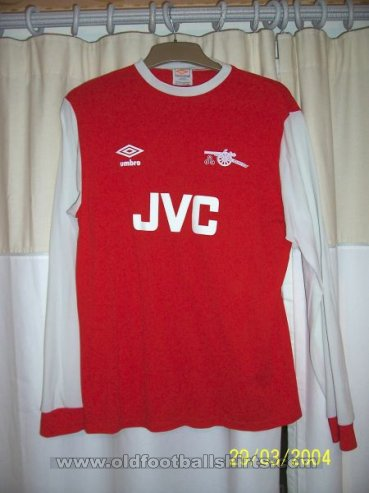Arsenal Home football shirt 1981 - 1982