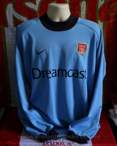 Arsenal Gardien de but Maillot de foot 2001 - 2002