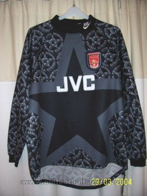 Arsenal Goalkeeper baju bolasepak 1993 - 1994