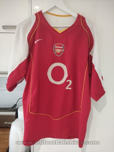 Arsenal Home football shirt 2004 - 2005