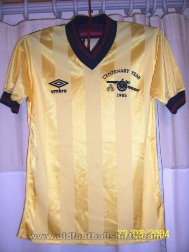 Arsenal Away football shirt 1983 - 1986