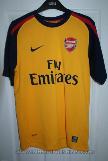 Arsenal Away football shirt 2008 - 2009