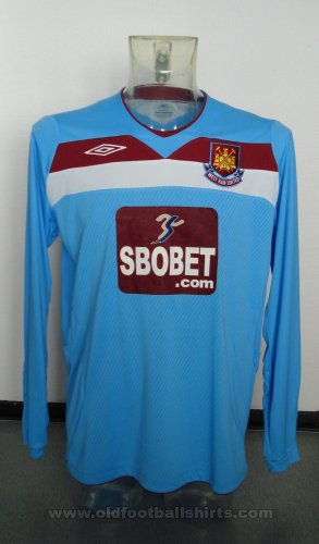 West Ham United Away voetbalshirt  2008 - 2009