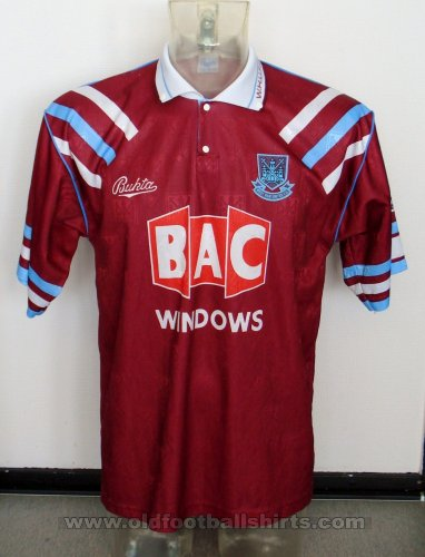 West Ham United Home football shirt 1991 - 1992
