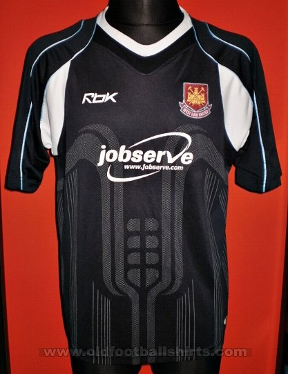 West Ham United Away baju bolasepak 2006 - 2007