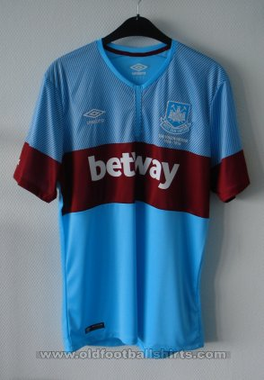 West Ham United Away football shirt 2015 - 2016