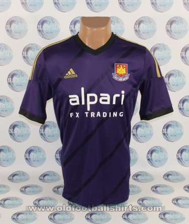 West Ham United Third baju bolasepak 2014 - 2015