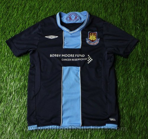 West Ham United Away Fußball-Trikots 2009 - 2010