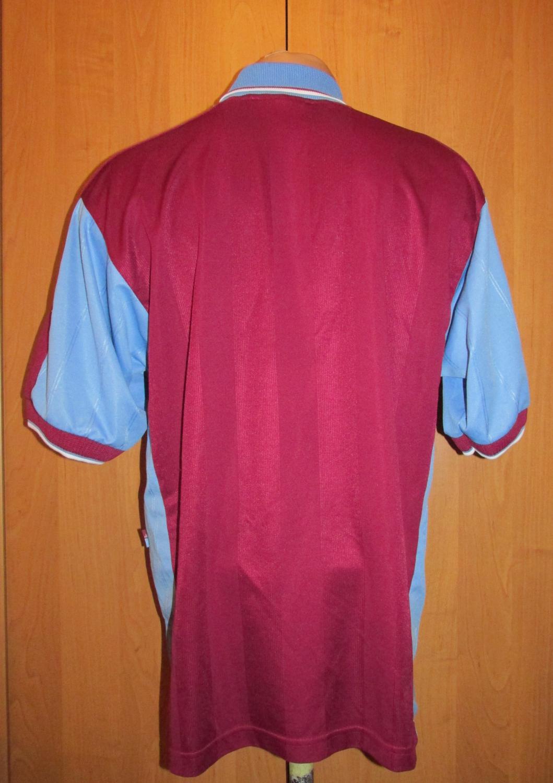 21ca498d759 West Ham United Home camisa de futebol 1998 - 1999. Sponsored by ...