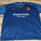 Bangor City football shirt 1998