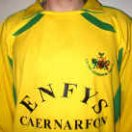 Caernarfon Town football shirt 2001 - 2006
