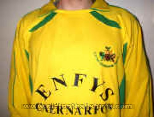Caernarfon Town Home football shirt 2001 - 2006