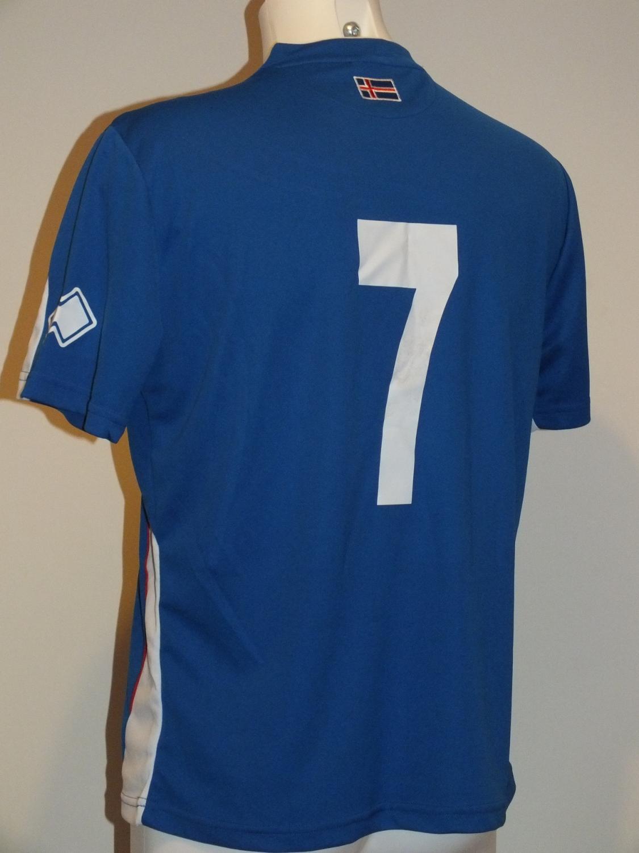 01cde24ffde Iceland Home Maillot de foot 2012 - 2013.