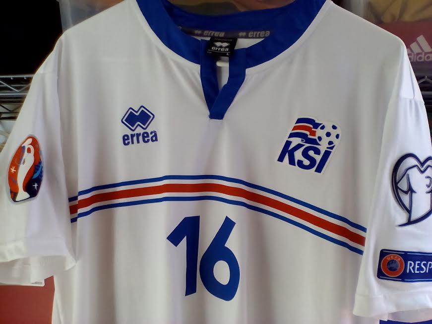 6da8cb3bf Iceland Home maglia di calcio 2015 - 2016.