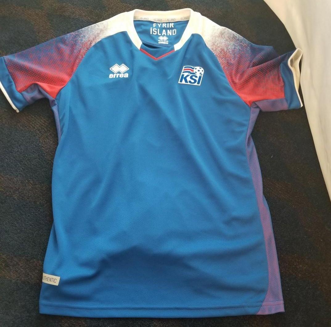 81ded87a7 Nova Temporada Iceland Home camisa de futebol 2018 - 2019.