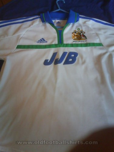 Wigan Athletic Away baju bolasepak 2000 - 2001