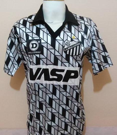 Clube Atletico Bragantino Home Camisa De Futebol 1990 1991
