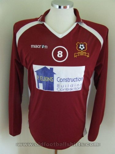 Resolven Junior FC Home Camiseta de Fútbol (unknown year)