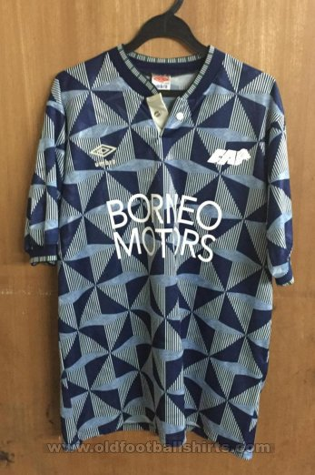 Singapore Away baju bolasepak 1991 - 1992