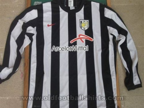 Jeunesse Esch Home football shirt 2011 - 2014