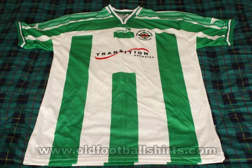 The New Saints Home football shirt 2002 - 2003