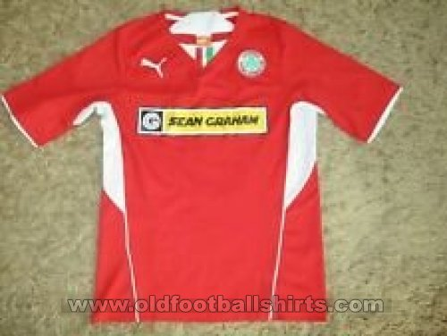 Cliftonville Home football shirt 2013 - 2015