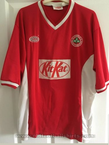 Cliftonville Home Fußball-Trikots 1999 - 2000