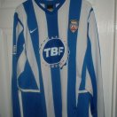 Coleraine football shirt 2005 - 2006