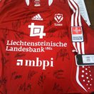 Vaduz football shirt 2009 - 2010