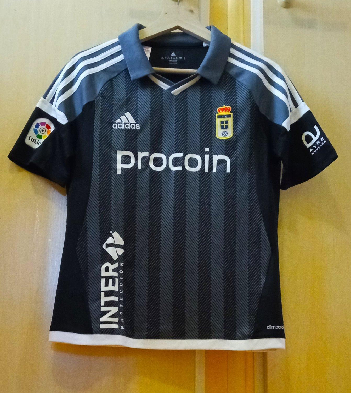 6b6cf4065 Real Oviedo Third maglia di calcio 2016 - 2017.