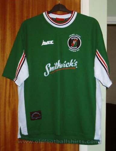 Glentoran Home Maillot de foot 1999 - 2000