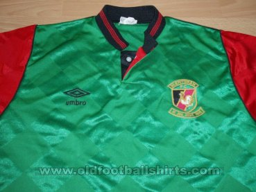 Glentoran Home Maillot de foot 1991 - 1992
