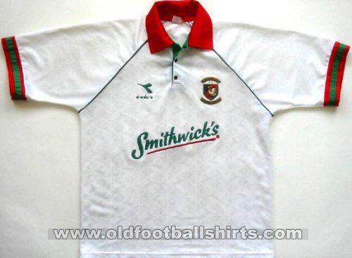 Glentoran Away Maillot de foot 1994 - 1995