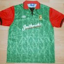 Glentoran football shirt 1992 - 1993
