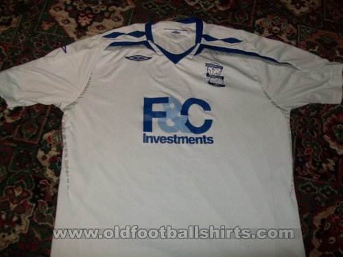 Birmingham City Away football shirt 2007 - 2008