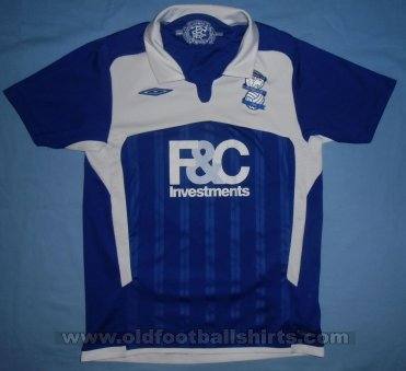 Birmingham City Home football shirt 2009 - 2010