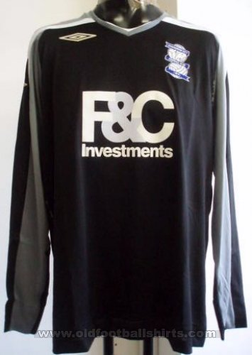 Birmingham City Goalkeeper football shirt 2007 - 2008