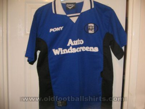 Birmingham City Home football shirt 1996 - 1997
