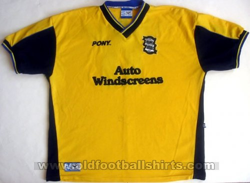 Birmingham City Away football shirt 1997 - 1998