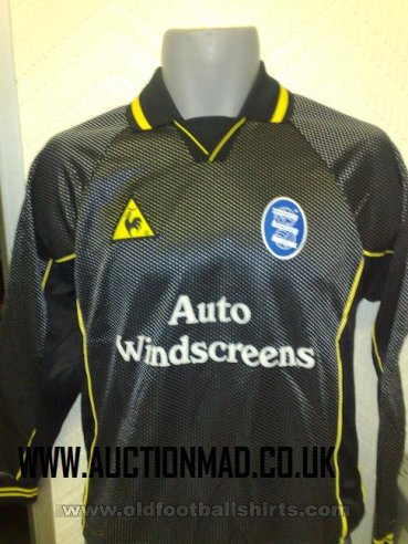 Birmingham City Goalkeeper football shirt 2002 - 2003
