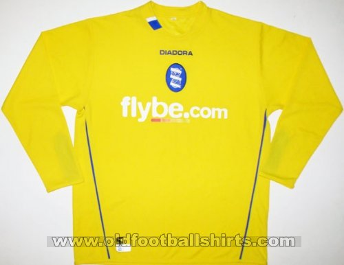 Birmingham City Goalkeeper football shirt 2004 - 2005