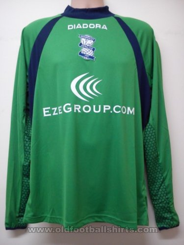 Birmingham City Goalkeeper football shirt 2012 - 2013