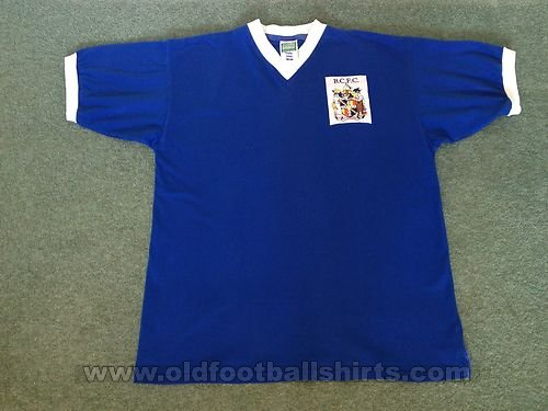 Birmingham City Retro Replicas football shirt 1956 - 1961