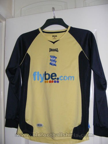 Birmingham City Goalkeeper football shirt 2006 - 2007