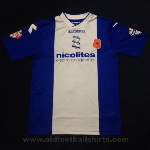 Birmingham City Home football shirt 2013 - 2014